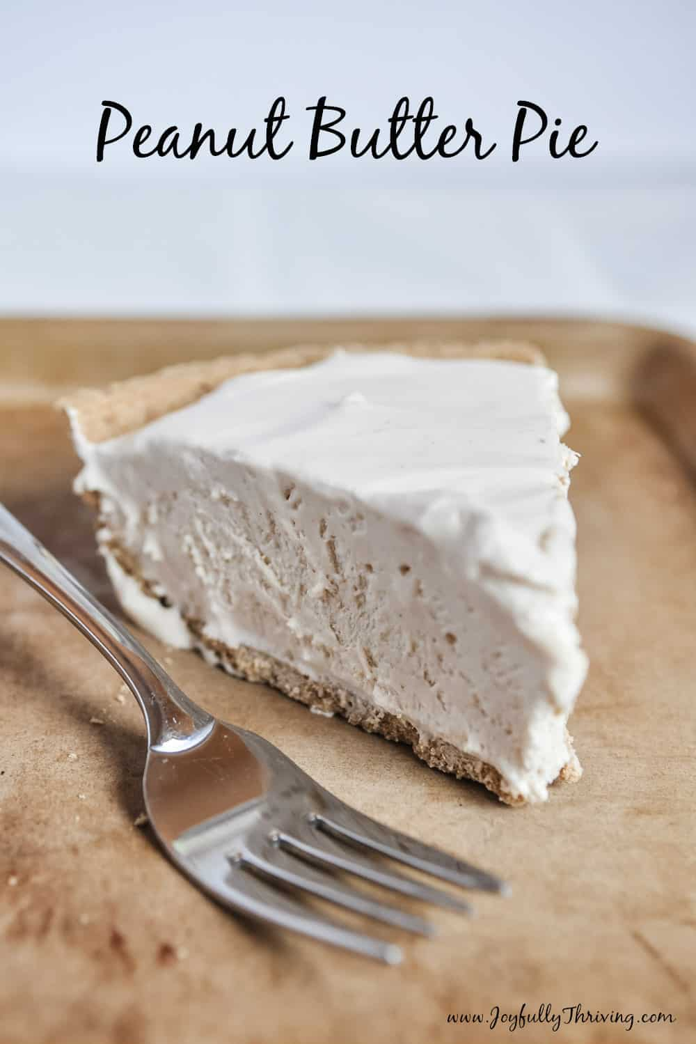 Easy, Frozen Peanut Butter Pie You Can Make in Minutes