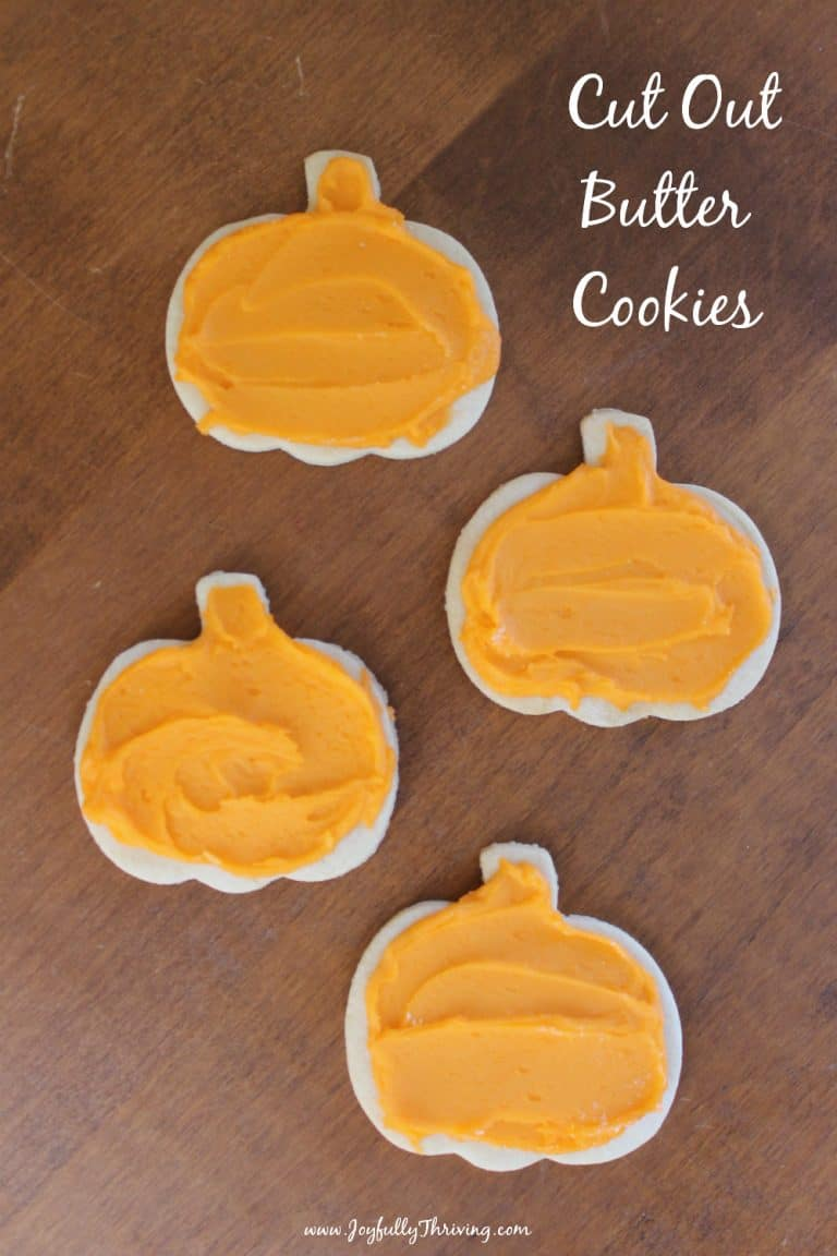 Cut Out Butter Cookies
