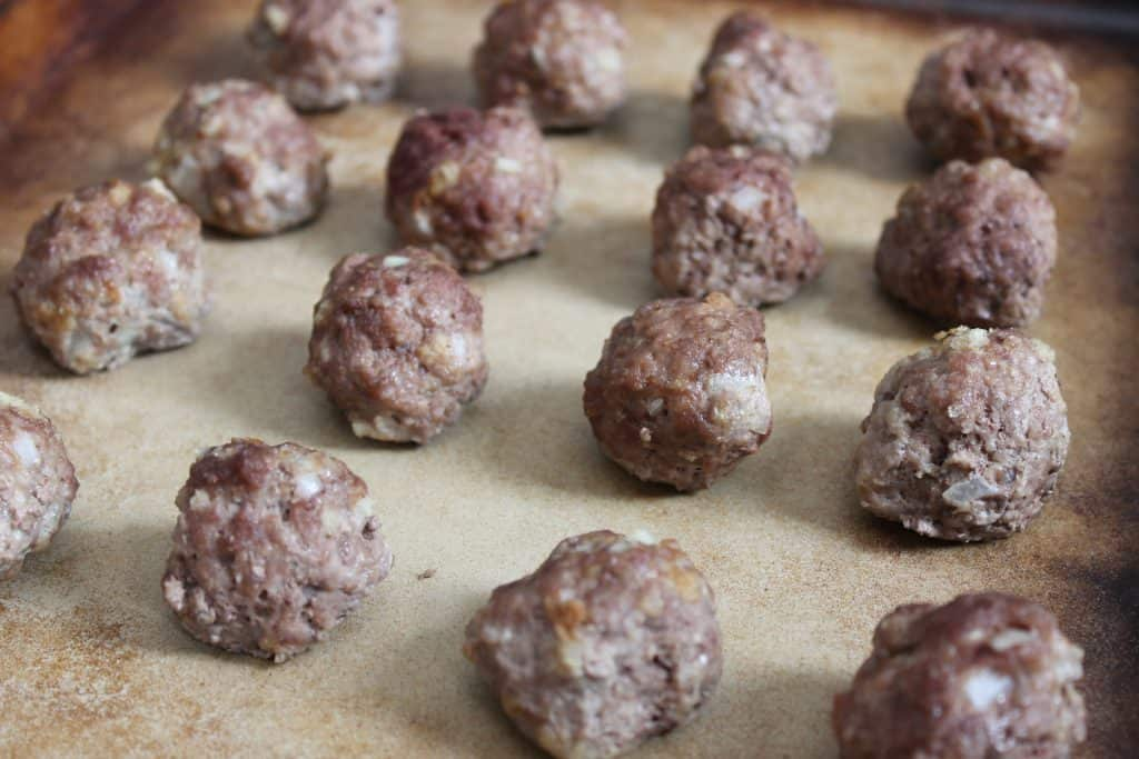 Basic Freezer Meatballs - So easy and so delicious!
