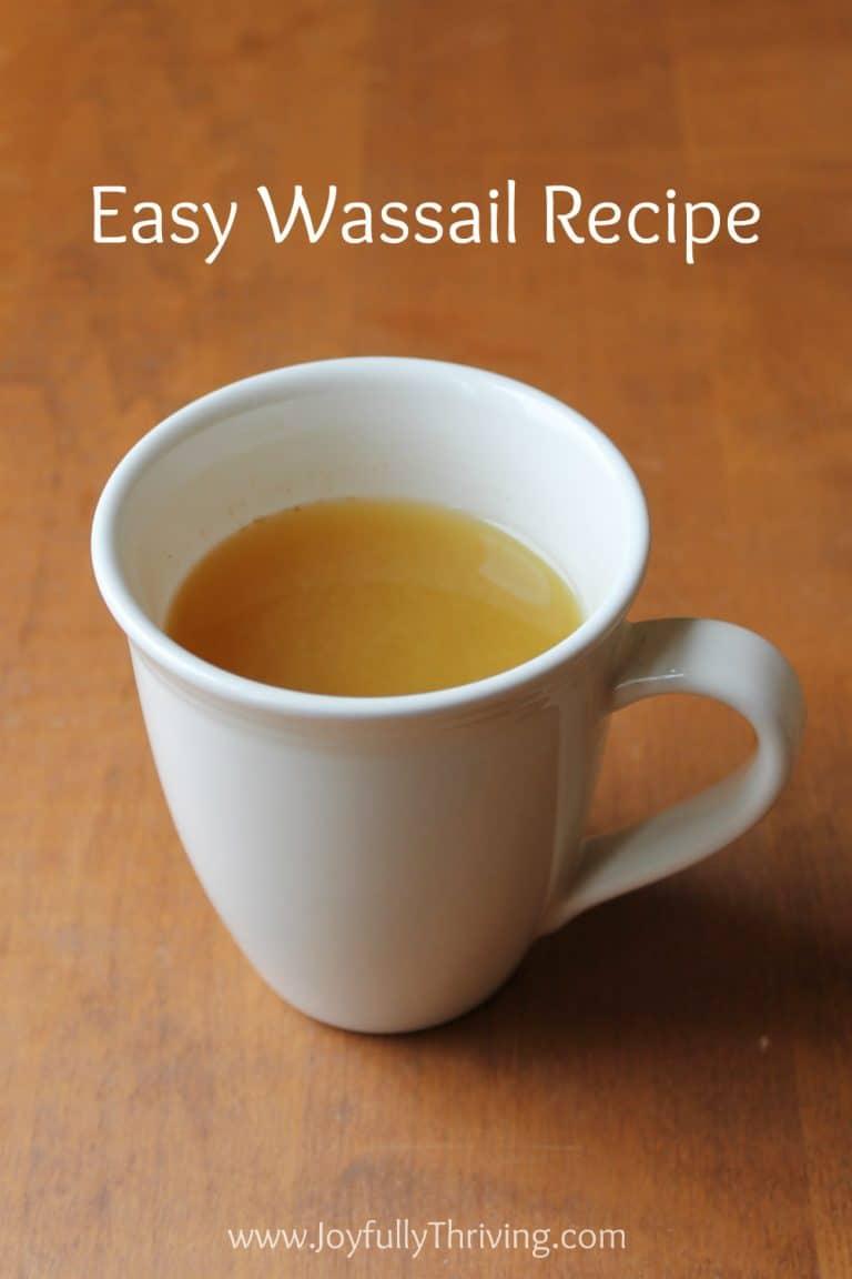 Easy Wassail Recipe