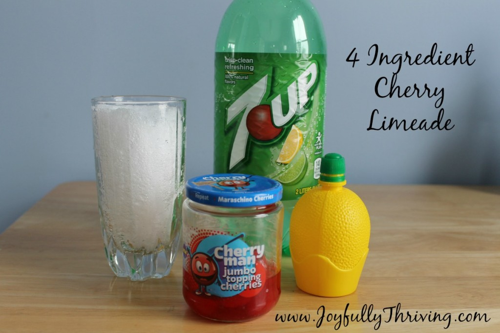 4 Ingredient Cherry Limeade - An Easy and Delicious Recipe!