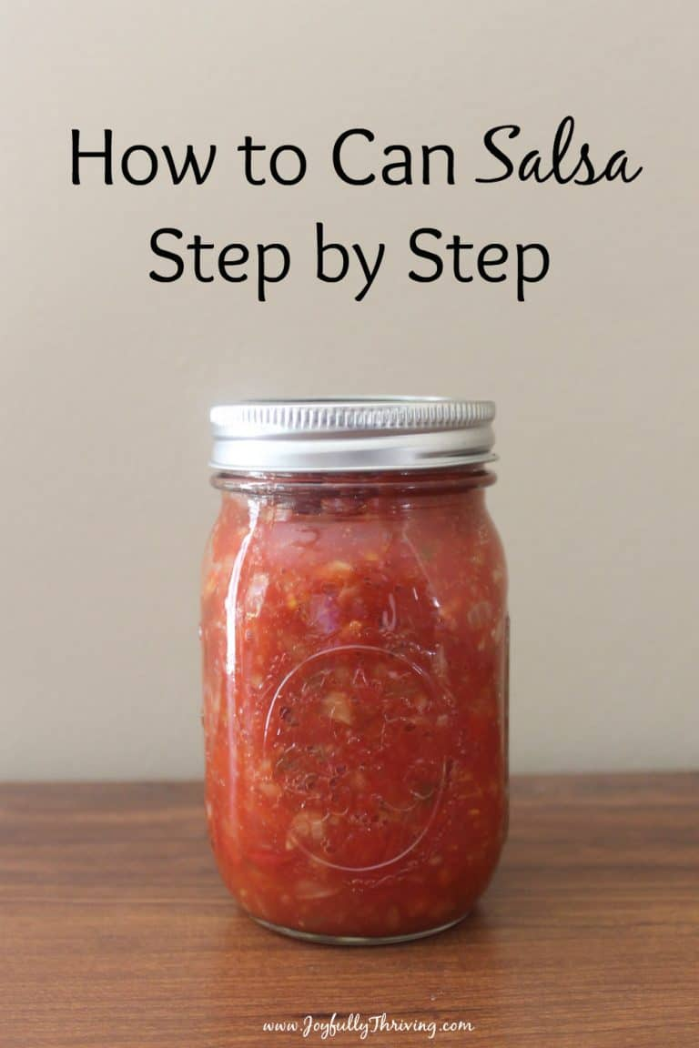 How to Can Salsa – A Delicious & Easy Salsa Recipe