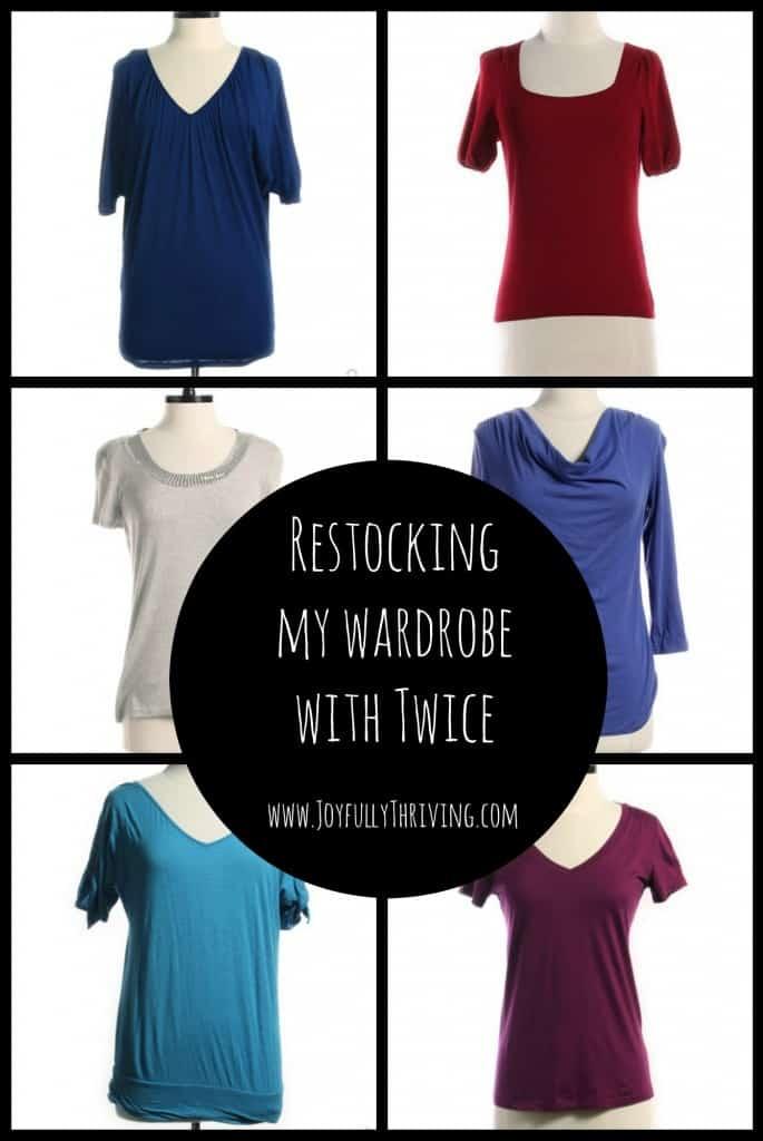 Restocking My Wardrobe with Twice - a Great Bargain Shopping Trip