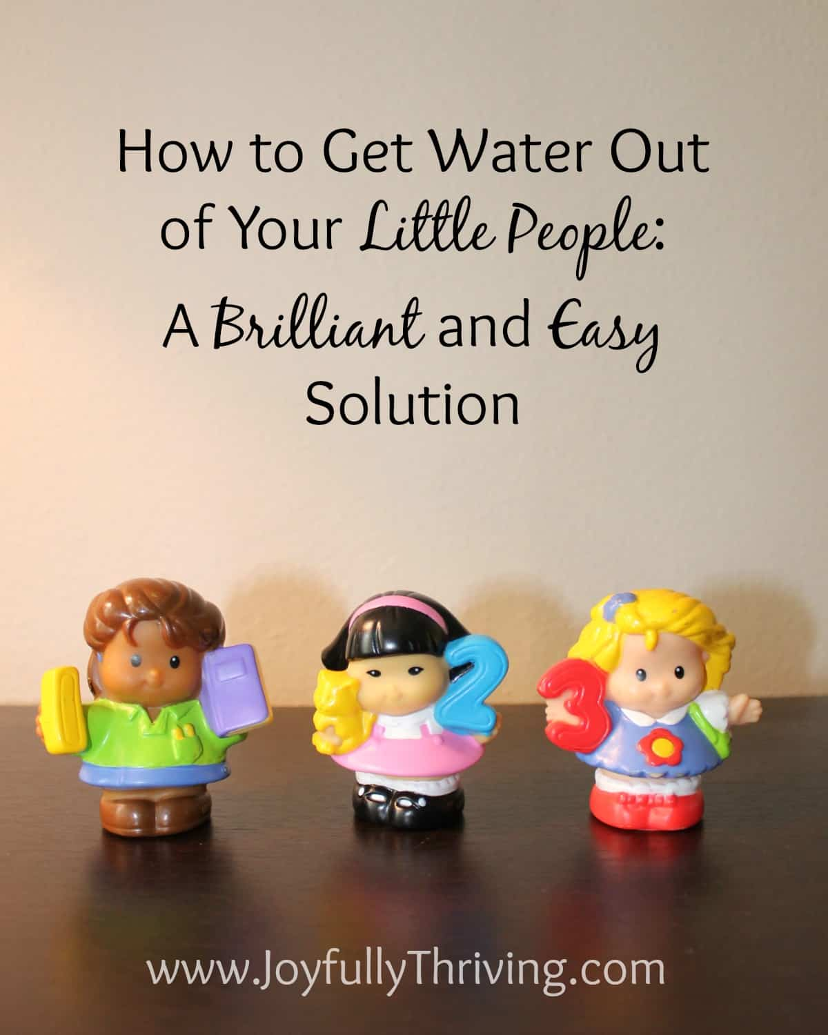 How to Get Water Out of Little People