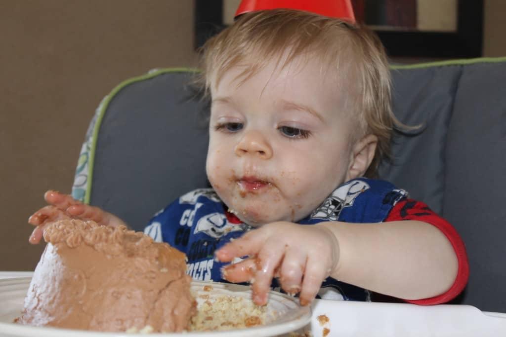 Nathan's 1st birthday cake
