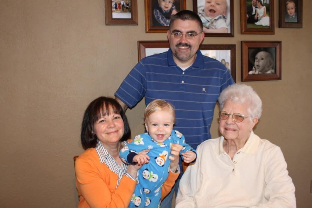 4 Generations of Schiffli's