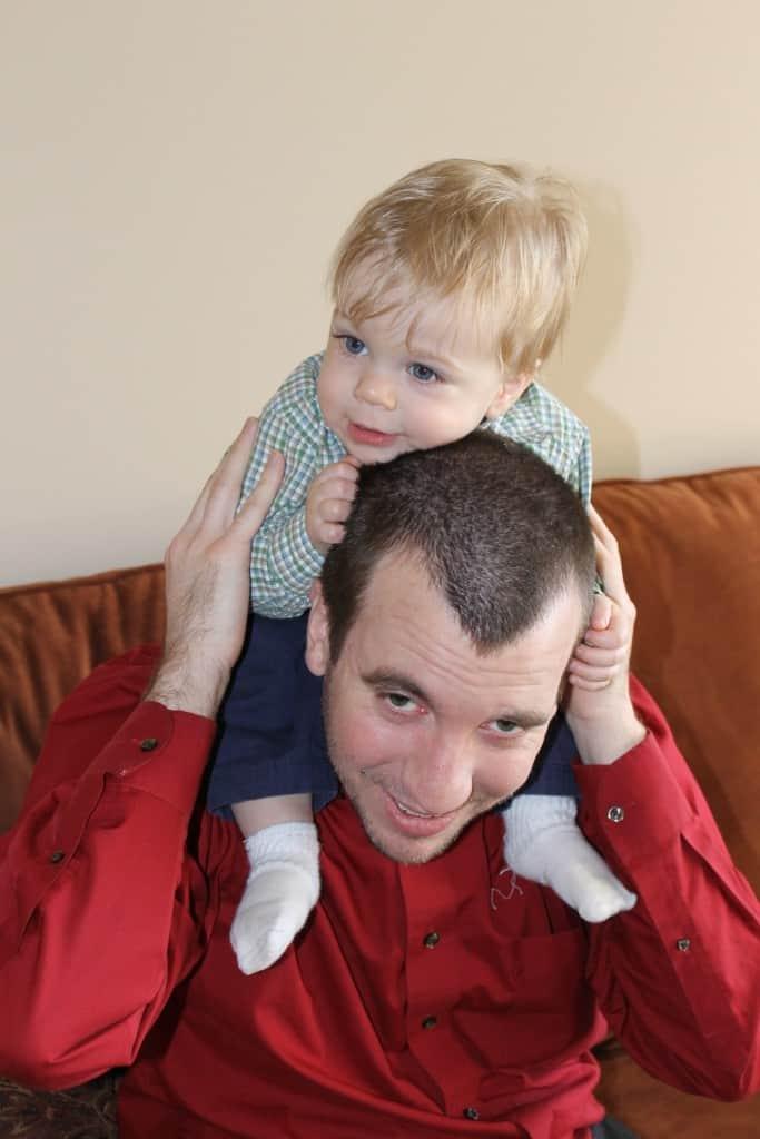 Uncle Joel and Nathan