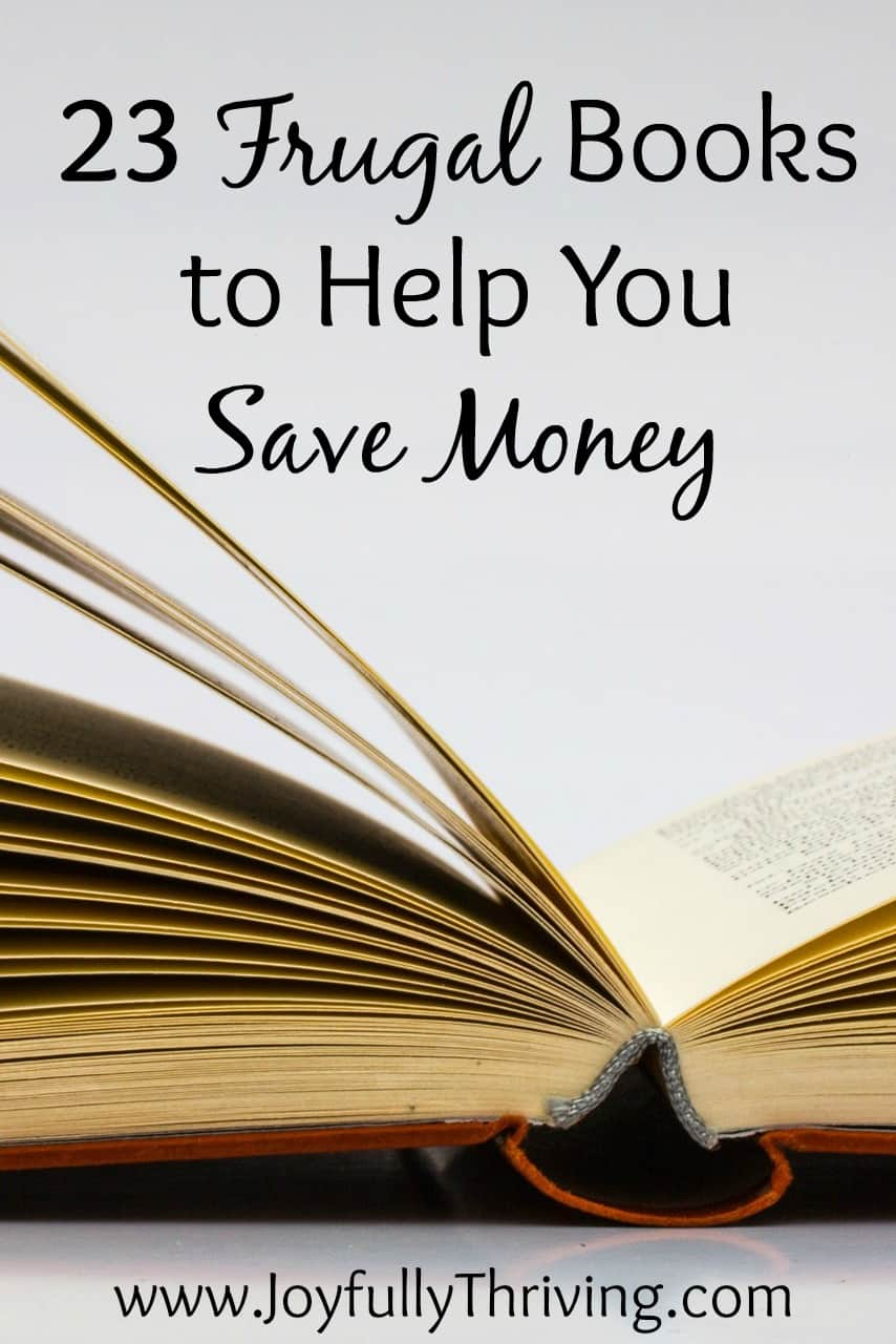 23 Frugal Books to Help You Save Money