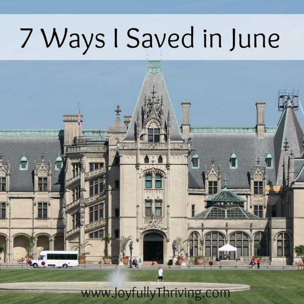 7 Ways I Saved in June