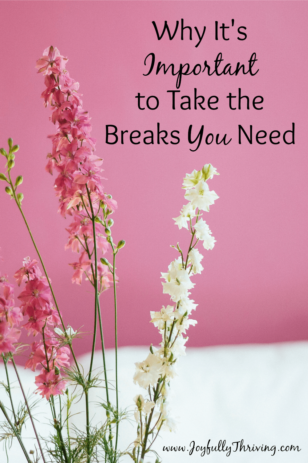 Why It's Important to Take the Breaks You Need
