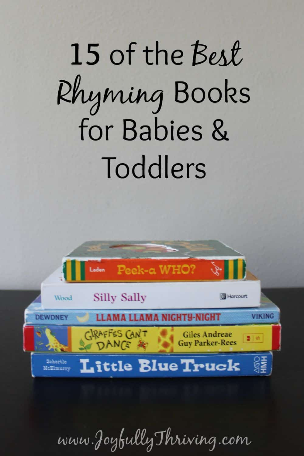 Best Rhyming Board Books for Babies & Toddlers