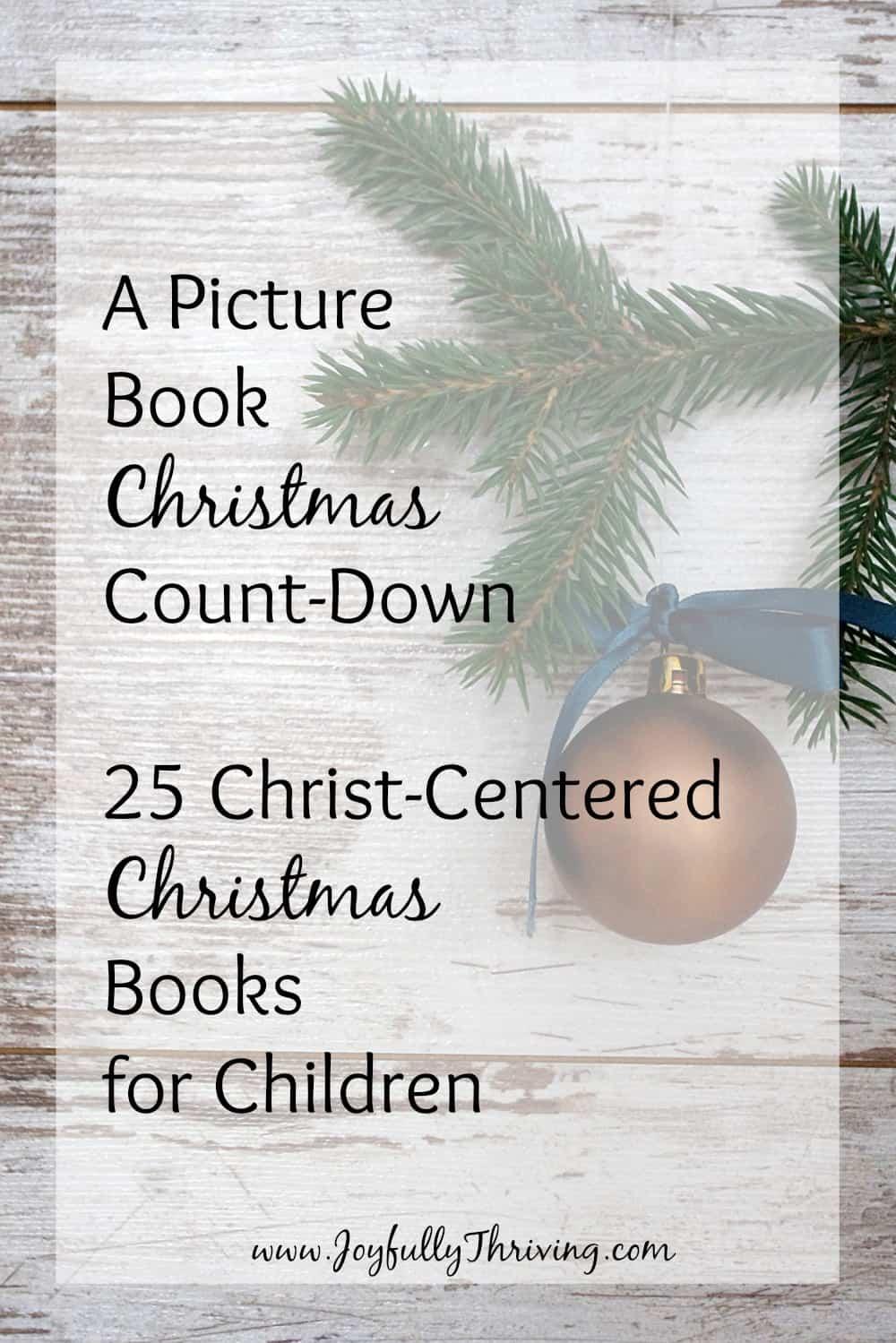 25 Christ-Centered Christmas Books