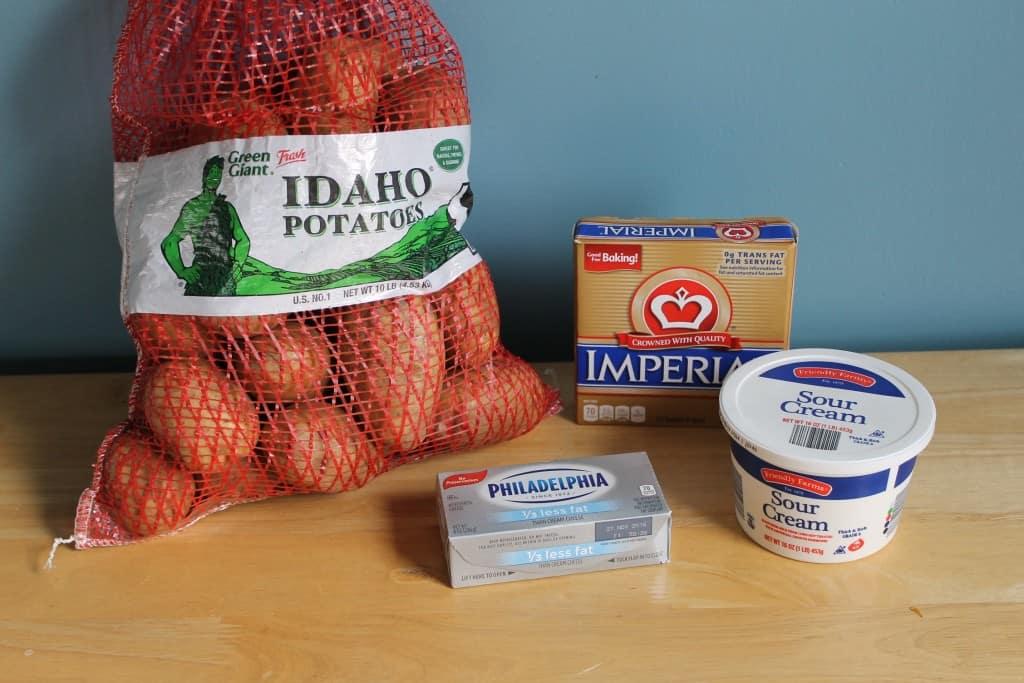 Mashed Potato Ingredients