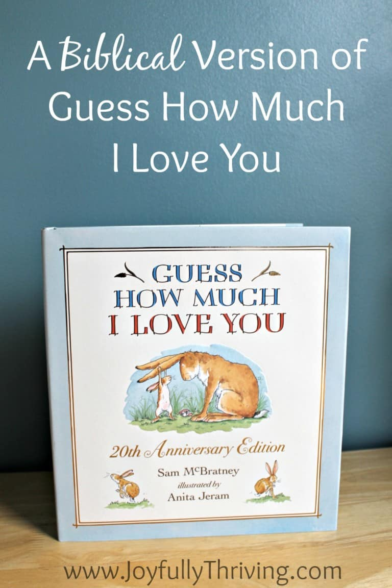 A Biblical Version of Guess How Much I Love You