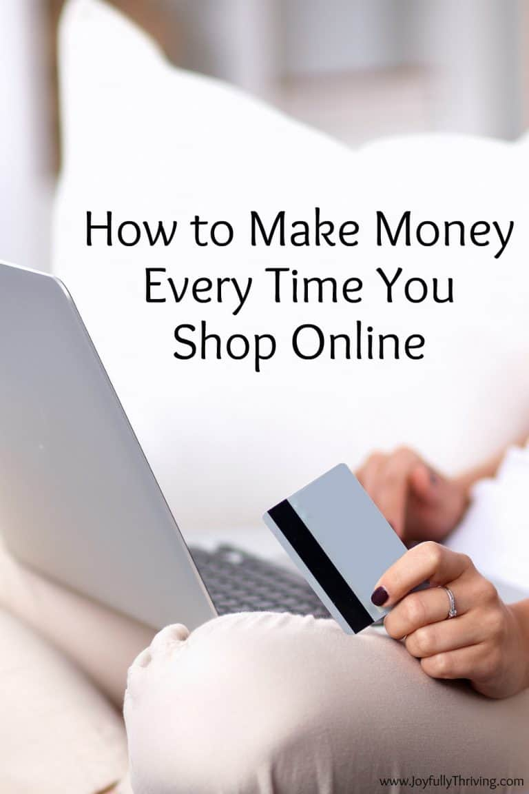 How to Make Money Every Time You Shop Online