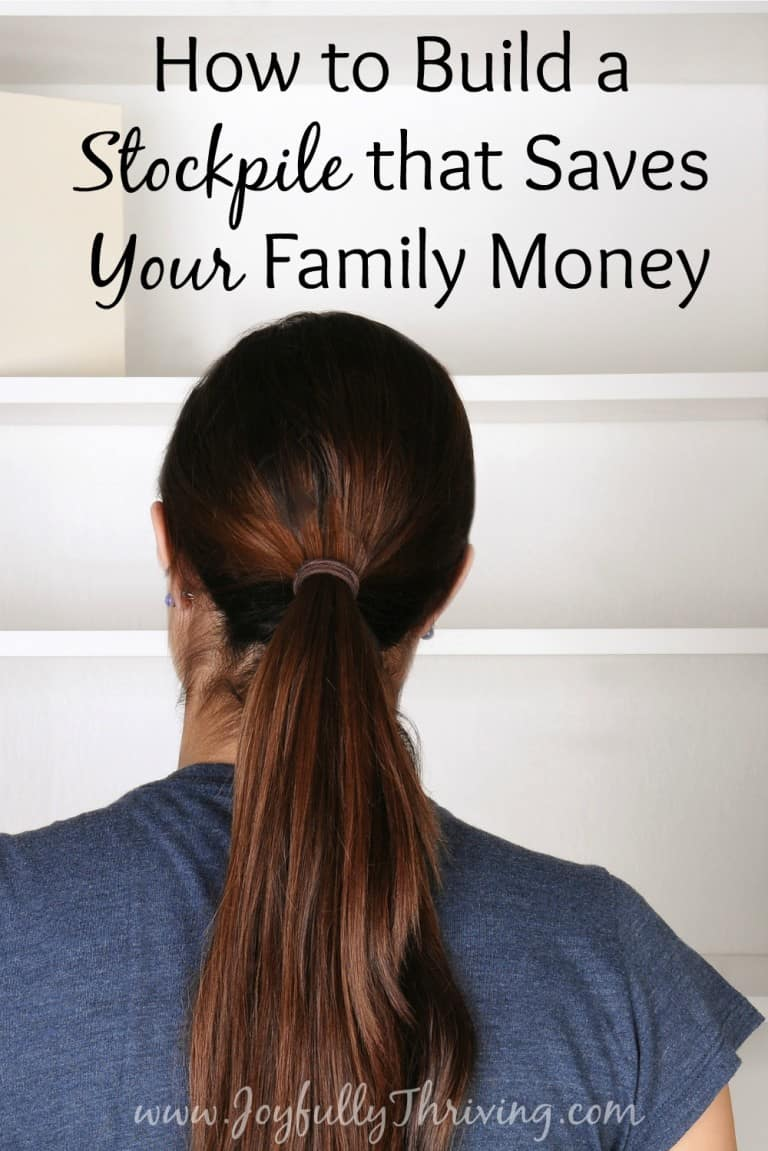 How to Build a Stockpile that Saves Your Family Money