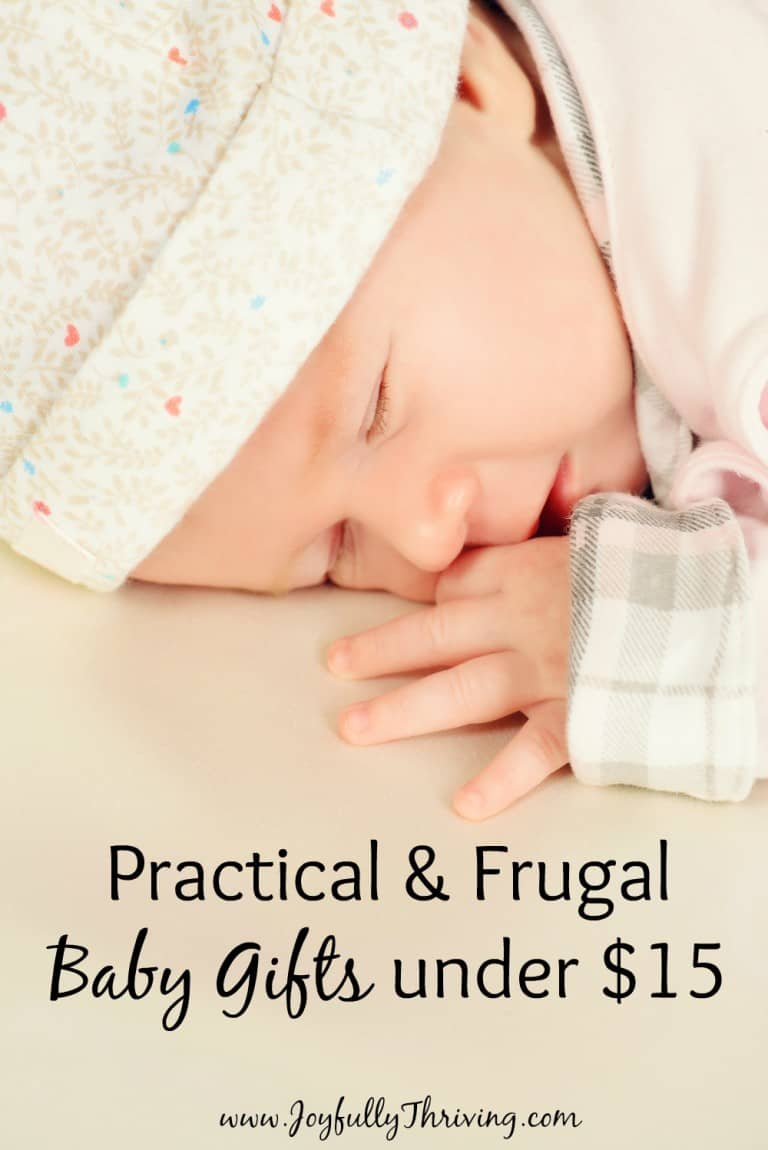 Frugal and Practical Baby Gifts under $15