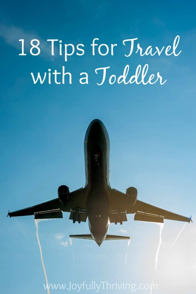Tips for Traveling with a Toddler - Traveling with kids doesn't have to be stressful! Here are some great tips for making travel easier on kids and adults. Number 9 has some great ideas!