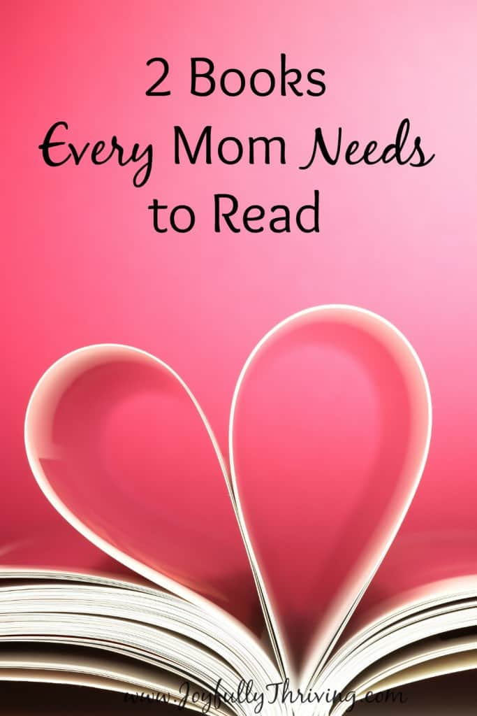 2 Books Every Mom Needs to Read - These recommendations don't come lightly but I truly think every Christian mom needs to read these books!