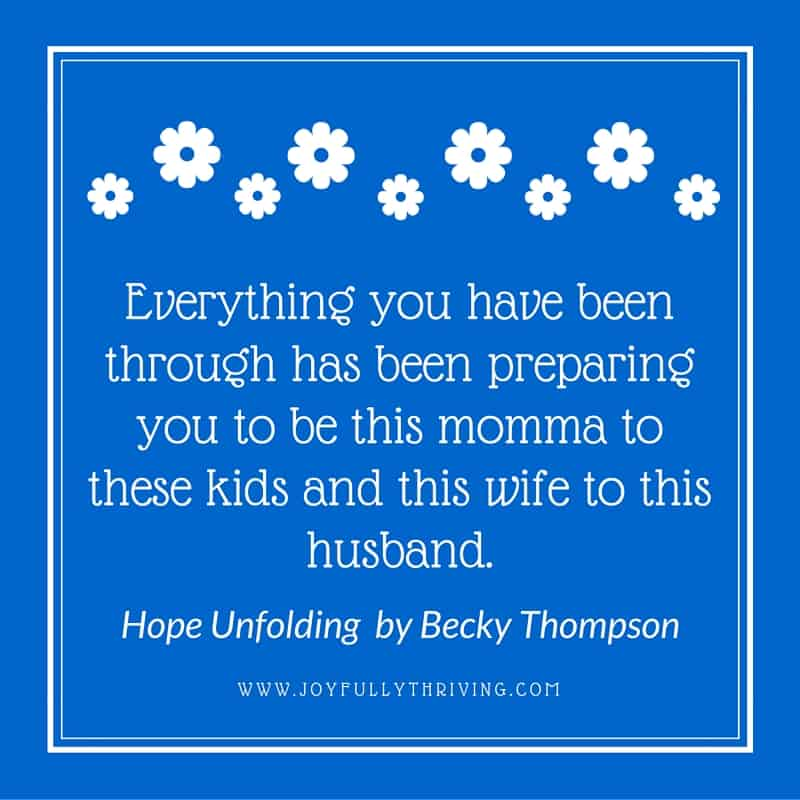 Quote Hope Unfolding
