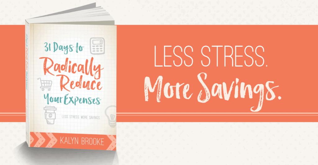 31 Days to Radically Reduce Less Stress