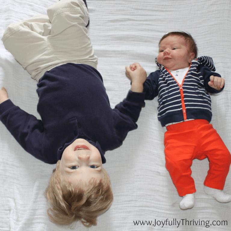 Staying Organized with 2 Children Under 2