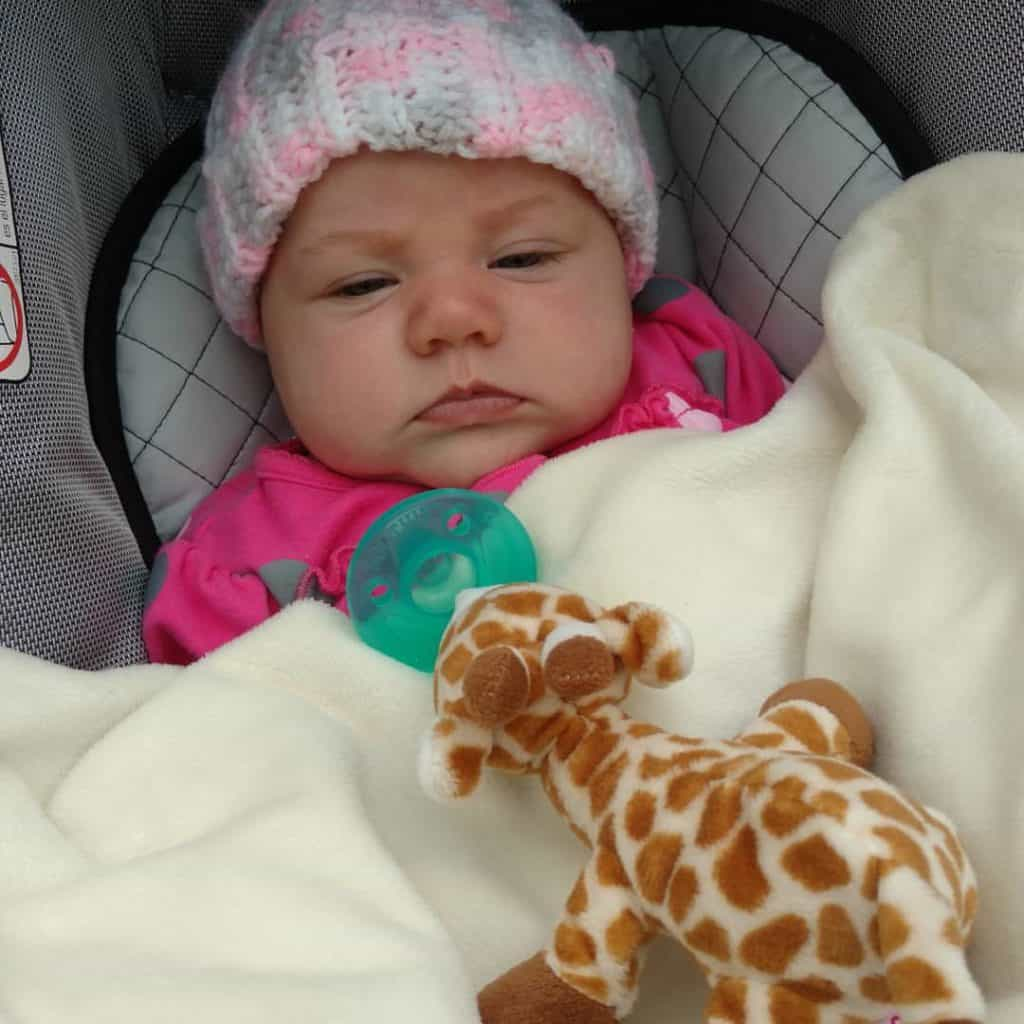 Emma's first trip to the zoo
