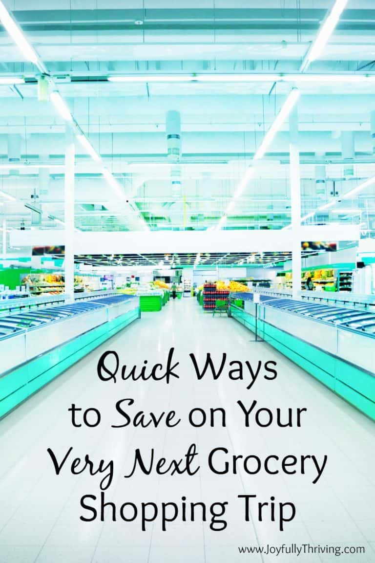Quick Ways to Save on Your Next Grocery Shopping Trip