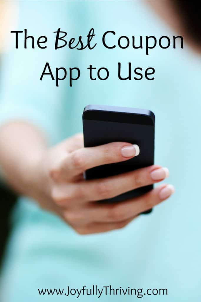 The Best Coupon App to Use - If you do nothing else, use this coupon app to save money on your groceries. It's so easy and it really works!
