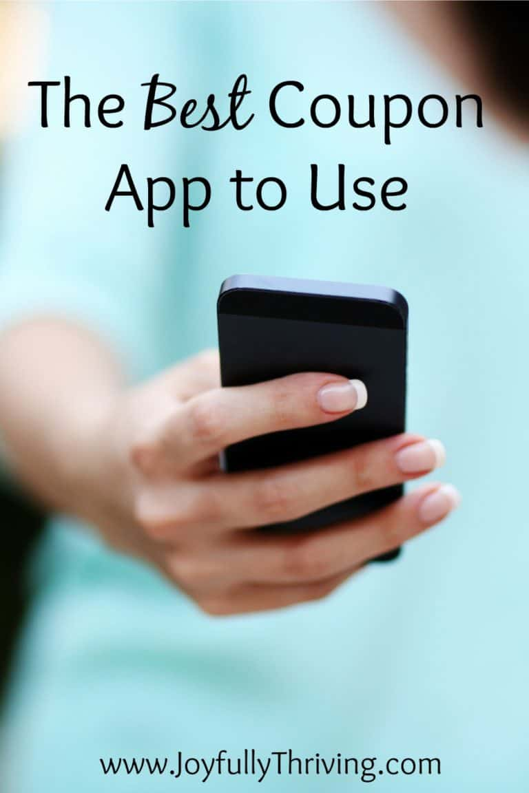 The Best Coupon App to Use