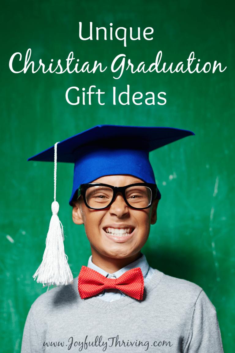 Unique Graduation Gifts for a Christian Graduate