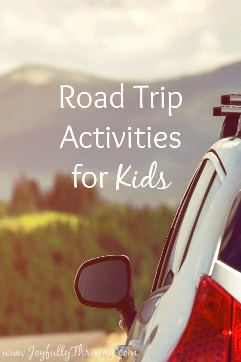 21 Easy & Entertaining Road Trip Activities for Kids