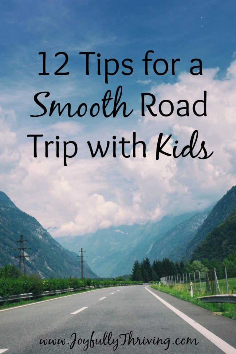 12 Tips for a Smooth Road Trip with Kids