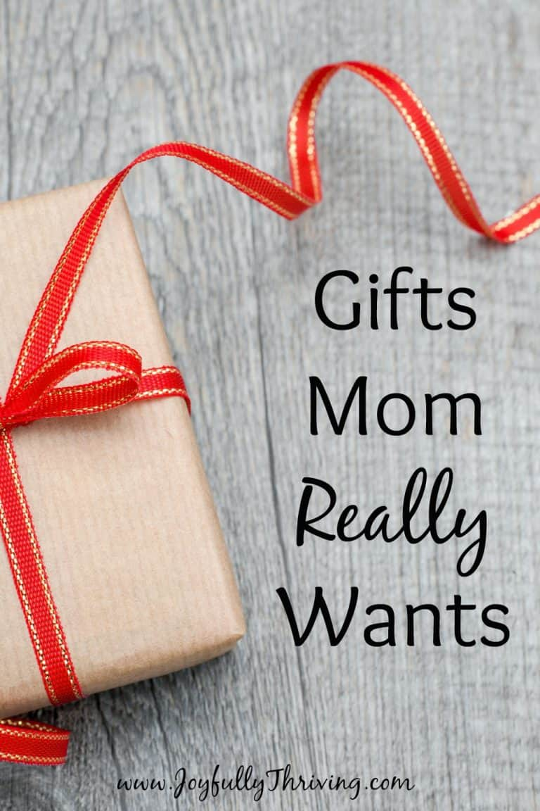 Gifts Mom Really Wants