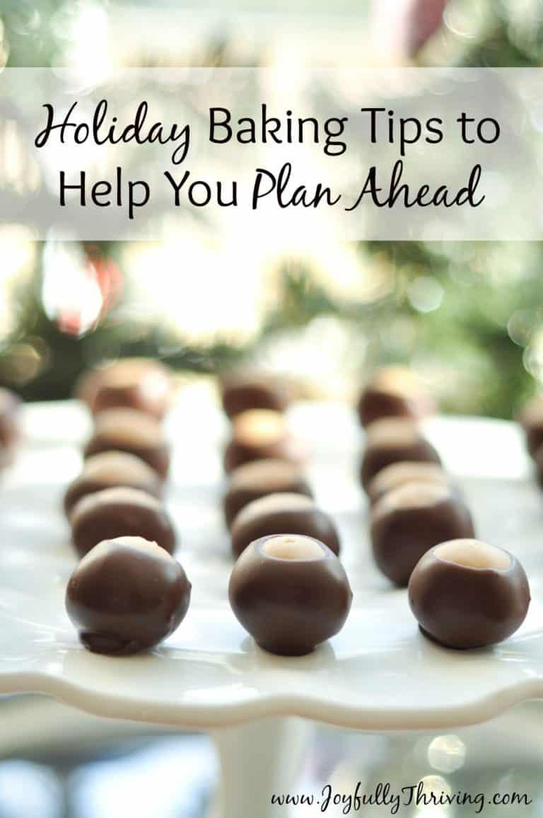 Holiday Baking Tips