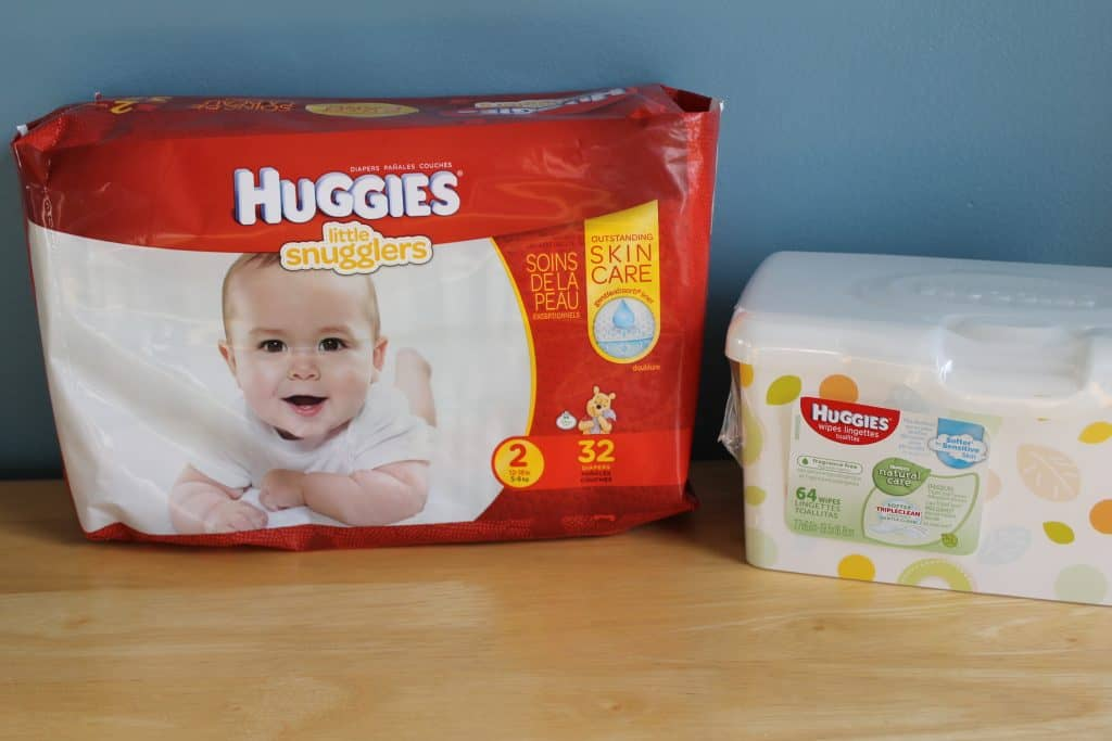 Huggies Little Snugglers Diapers and Huggies Natural Care Wipes