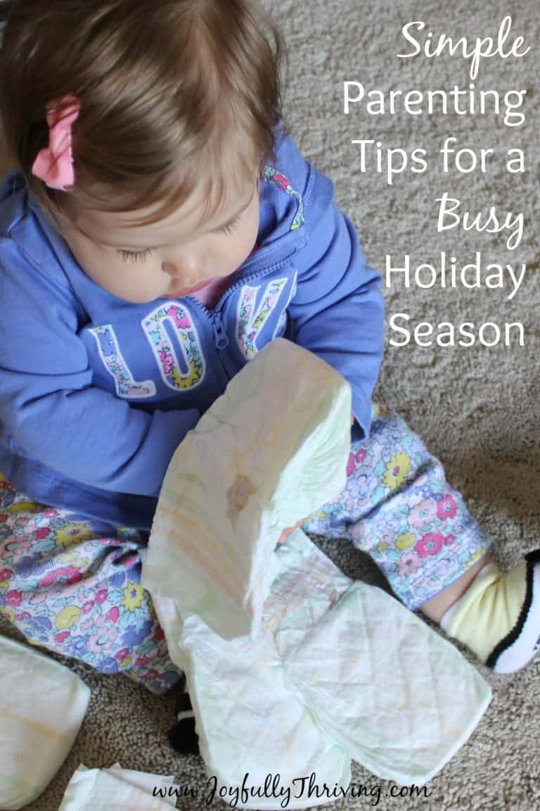 Simple Parenting Tips for a Busy Holiday Season