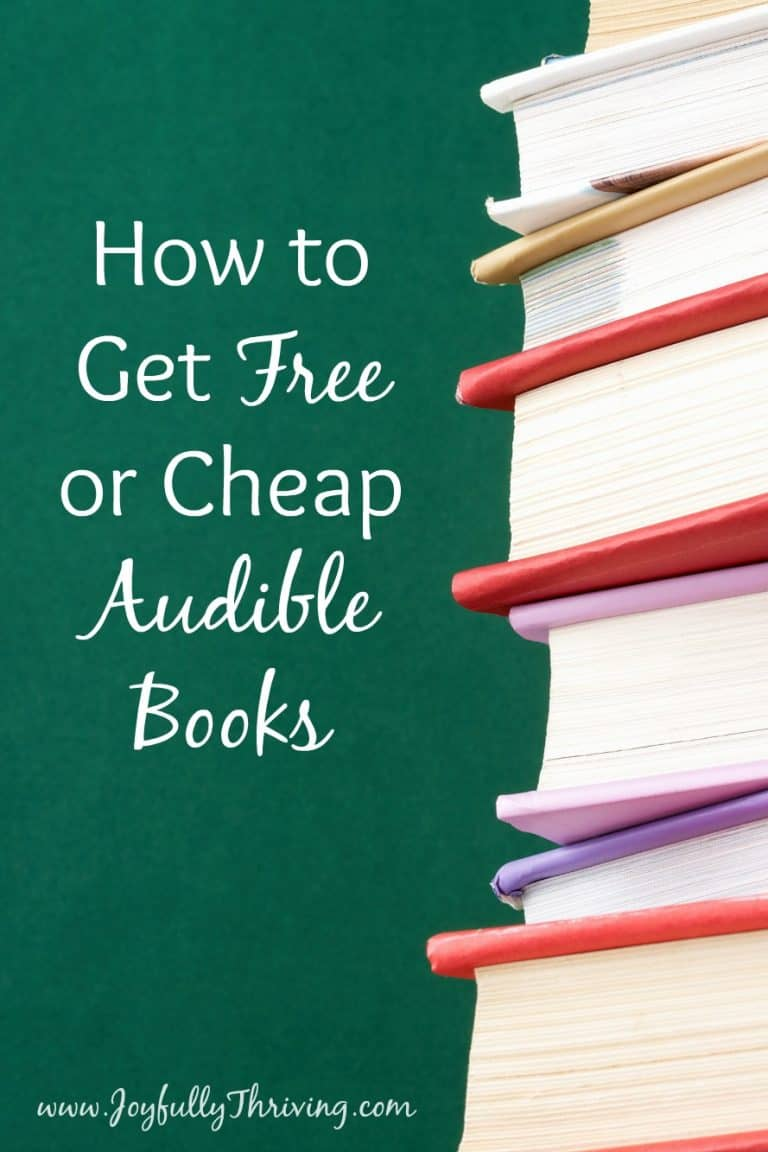 How to Get Free or Cheap Audible Books – the Surprisingly Easy Way