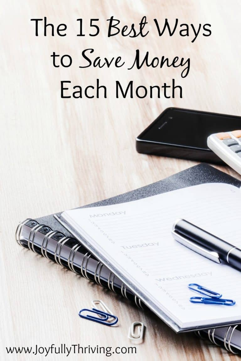 The 15 Best Ways to Save Money Each Month
