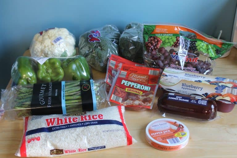 End of April Grocery Shopping
