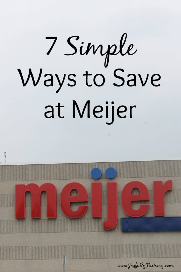 7 Simple Ways to Save Money at Meijer