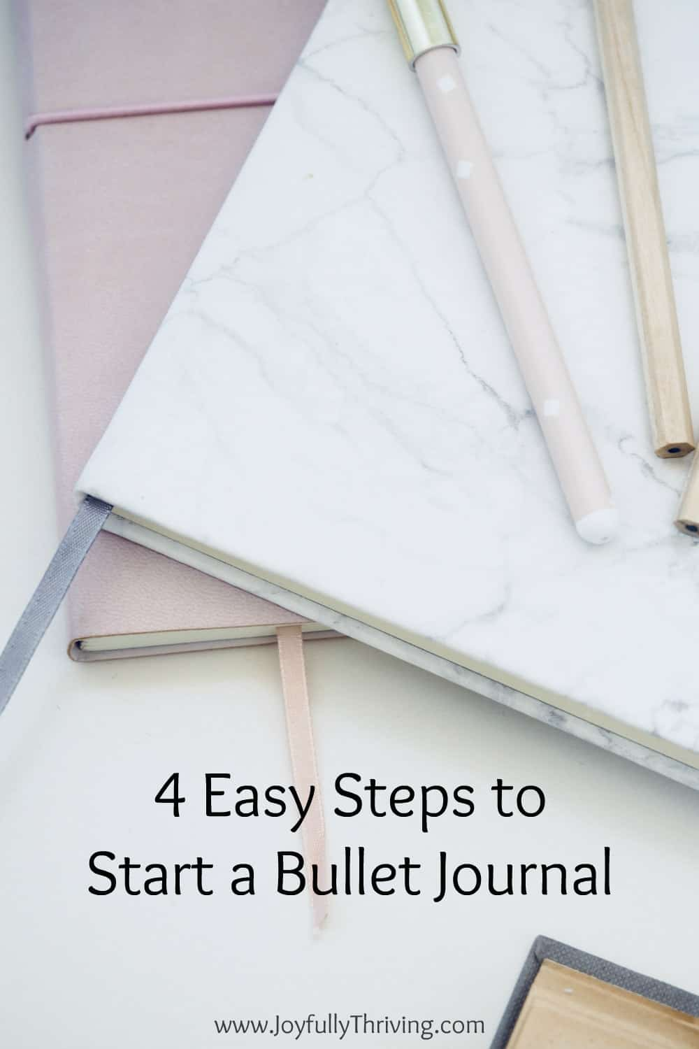If you've been wanting to start a bullet journal, learn how you can do it today - in 4 easy steps! I love my bullet journal and this post was so helpful! #bulletjournal