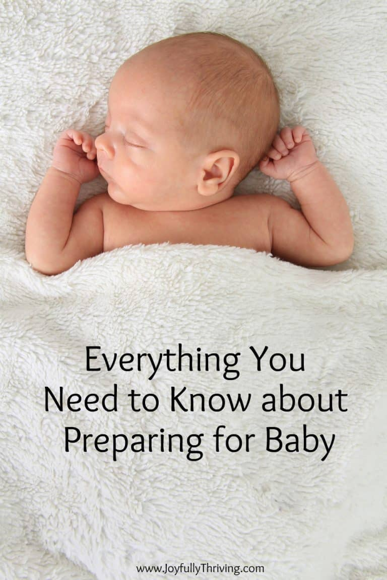 Everything You Need to Know about Preparing for Baby