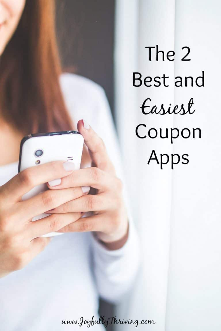 2 Easy Coupon Apps for Busy Moms