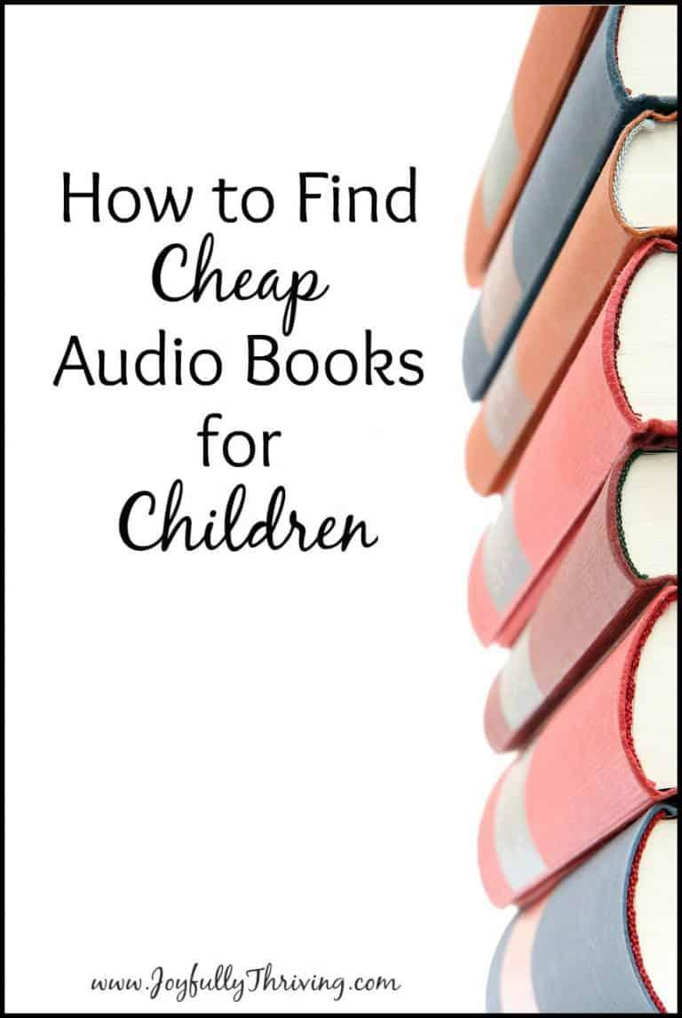 60 Best Audio Books for Children Under $3