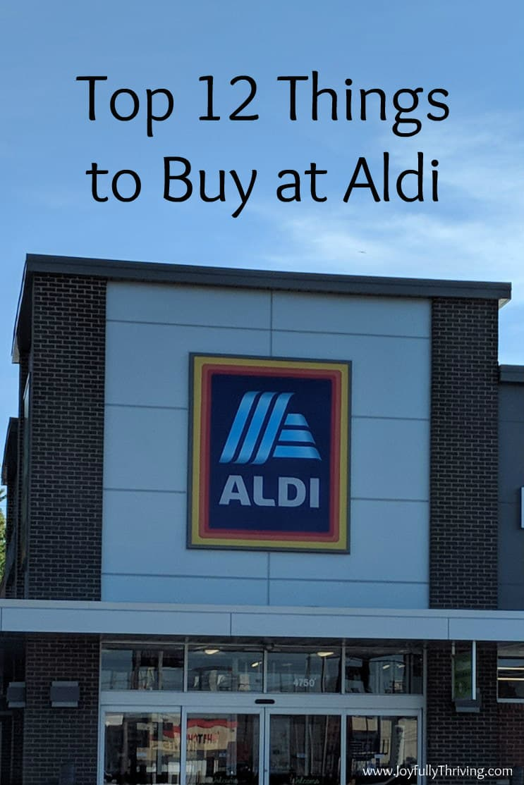 The 12 Best Things to Buy at Aldi