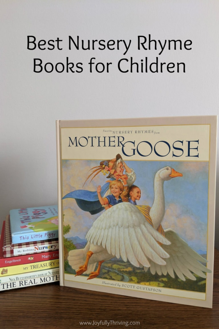 Best Mother Goose Rhymes Books for Children