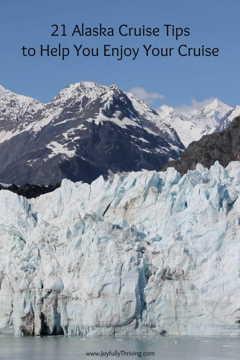 Alaska Cruise Tips – 21 Things I Wish I Knew Before My First Alaskan Cruise