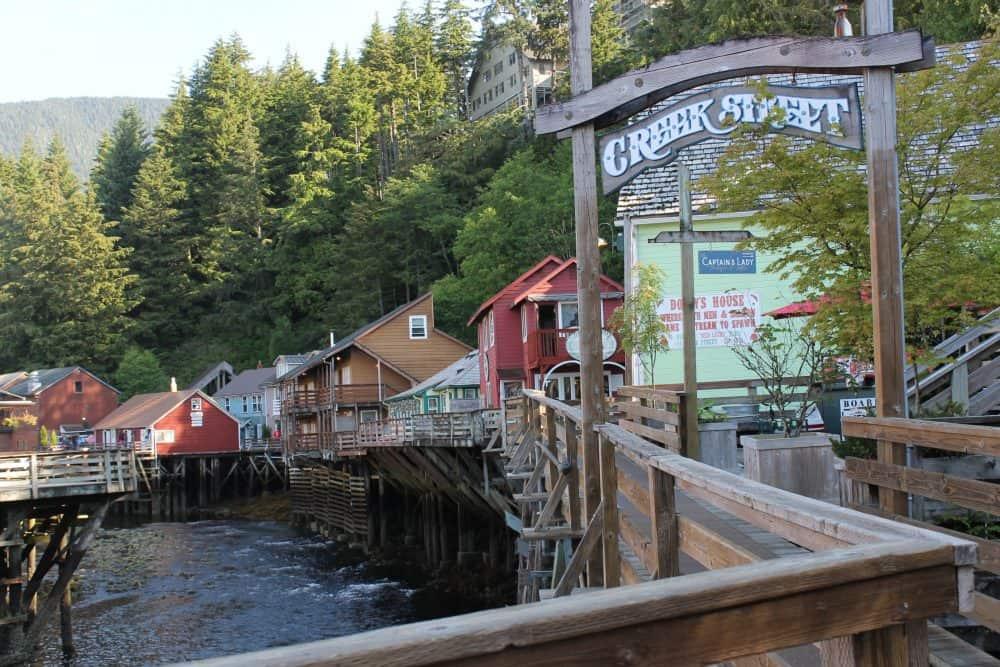 Alaska Cruise Tips - A Visit to Creek Street in Ketchikan