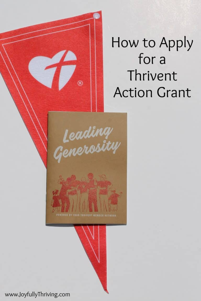How to Apply for a Thrivent Action Grant